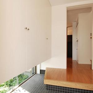 玄関収納桜坂の家